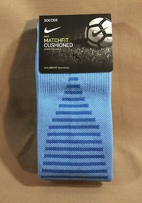 fe7be68dd753 Nike Team Matchfit Soccer Socks - UNIV ITALY BLUE - SX5730-412 OTC Cushioned