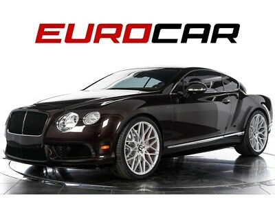 Continental GT V8 S 2015 Bentley Continental GT V8 S - STUNNING & RARE DUAL INTERIOR, SPORT EXHAUST