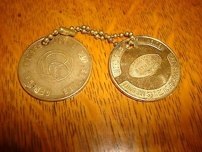 2 Buick Coins Golden Anniversary 1903 1953 GM Builds It's First 50 Million Cars!