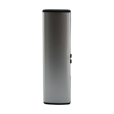 Rechargeable USB Electric Windproof Cigarette lighter - Silver