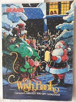 Vintage Sears Wish Book Christmas Catalog 1990 Barbie Lego Batman Beetlejuice