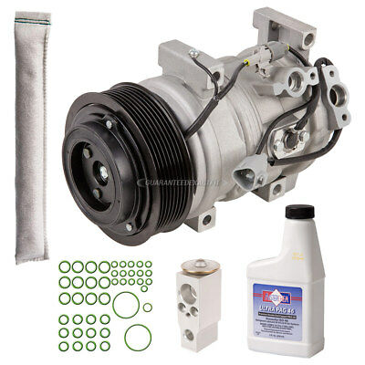 New AC Compressor & Clutch With Complete A/C Repair Kit Fits Toyota Sequoia