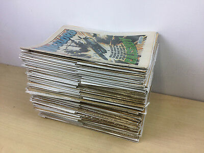 WARLORD Comic Bundle x 91 | Years 1976 to 1984 | Good Condition all in film bags