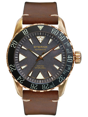 Eterna Kontiki Bronze Manufacture Limited Edition 300 Pieces 1291.78.49.4122