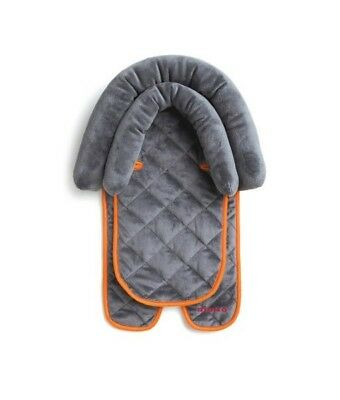 Diono 2-in-1 Head Support Pillow for Infant Baby Boy or Girl Unisex Gray NEW