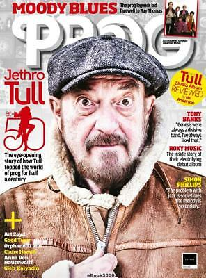 PROG Magazine March 2018 – Cover Feature – Jethro Tull, Moody Blues, Free CD