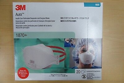 Filters 3m Respirator N95 Case Of Surgical 1870 Mers Mask Each 120