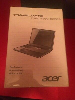 Acer Travelmate Anleitung 5760/5360 Series Guide Rapide
