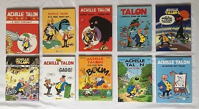 Achille Talon 36 A 45 Manque 37 / Greg Bret Winderlocher / Lot 10 Bd Eo /Dargaud