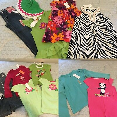 $250 Kids Wholesale Resale Clothes Lot NWT Gymboree Girls 5/6 8