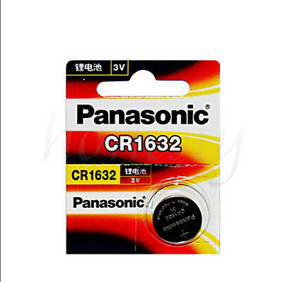 1x New Panasonic CR1632 ECR1632 1632 BR1632 DL1632 ECR1632 3V Battery