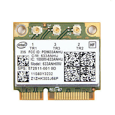 Intel 6300 AGN 633ANHMW 450Mbps PCI-E Wireless Wifi Card For Lenovo FRU 60Y3233