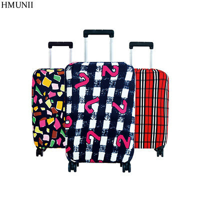 Luggage Protective Cover Dust Suitcase Trolley Case Travel Fashion Printed Women