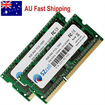 """AU 16GB 2x8GB PC3-10600 DDR3-1333MHz for Macbook Pro 13"""" Early Late 2011 A1278"""