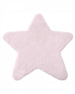 Super Soft n Thick Kids Nursery Floor Rug Star Shapes 1mx1m in 6 Colours