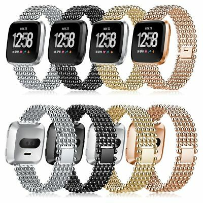 Bands for Fitbit Versa Bracelet Watch Band Stylish Replacement Rhinestone Bling