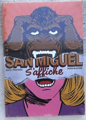 San Miguel s'affiche Rock Posters Serigraphie EO 2008 Neuf