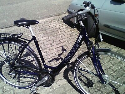 damenfahrrad trekking city stevens 28 zoll 24 g nge eur 170 00 picclick de. Black Bedroom Furniture Sets. Home Design Ideas