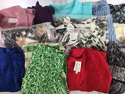 Lot of 30 Mixed Womens Clothes NEW or NWOT Wholesale Resale Consignment