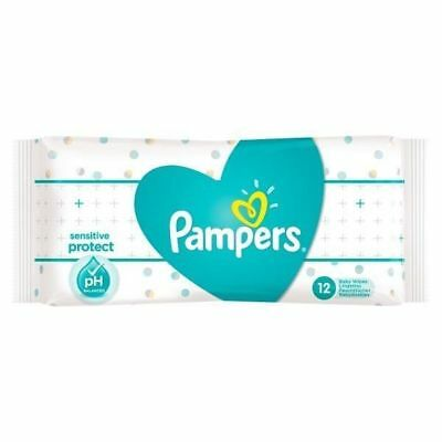 Box of 24 x Pampers Baby Gentle Cleansing Wet Wipes All Over Fresh Fragrance