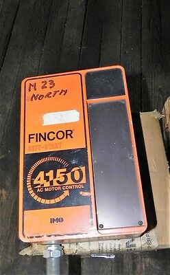 Fincor IMO Industries 4150P1153A 7.5HP AC Motor Control Used 2Pcs.!!