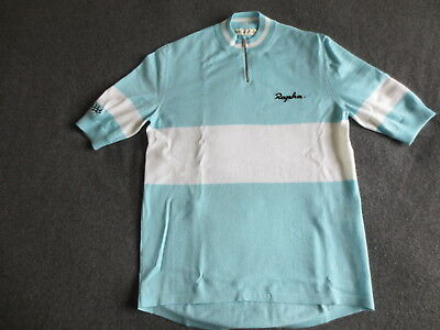 RAPHA – FAUSTO COPPI Tribute Merino Cycling Jersey – SMALL - Bianchi Celeste  - EUR 174 28b539f70
