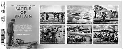 Royal Mail 2015 Mint 75th Anni Battle of Britain Stamp Sheet RAF WWII