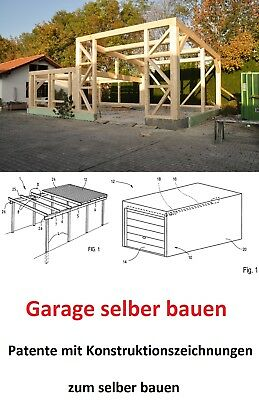 garage carport zum selber bauen patente super zum selber bauen eur 14 99 picclick de. Black Bedroom Furniture Sets. Home Design Ideas