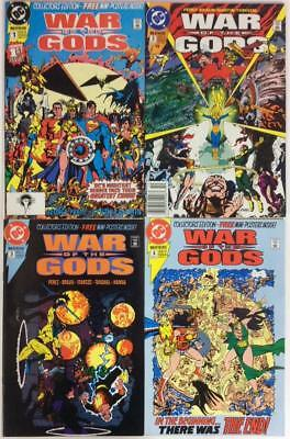 War Of The Gods #1 to #4 complete series (DC 1991)