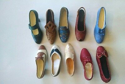 Just the right shoe collection by Raine lot of 10 dated 1999-2000-2001
