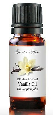 Vanilla Essential Oil - 10 mL 100% Pure and Natural - Free Shipping - US Seller!