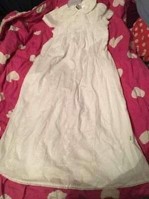 Halo Baby Collection White Christening Gown Sz 000  Bnwt Rrp $89.95  e79