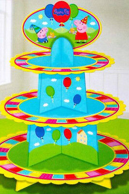 Peppa pig 3 tier cake stand bnip -  a82