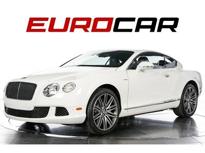 Continental GT Speed ($230,550.00 MSRP) 2013 Bentley Continental GT Speed - $230,550.00 MSRP, STUNNING WHITE ON WHITE!
