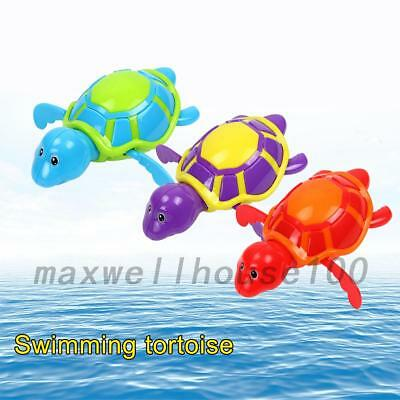 Funny Animals Baby Kids Turtle Chain Toys Bathing Swimming Toys Gifts New