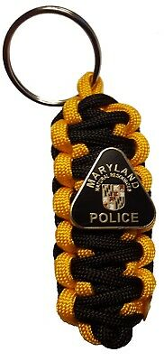 Maryland Natural Resources Police Paracord  Keychain