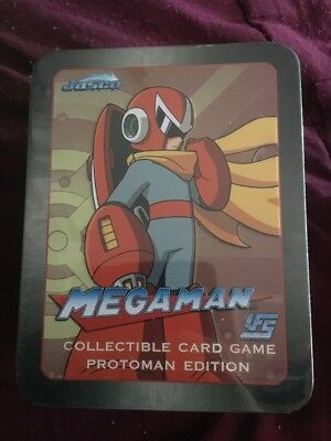 Capcom Jasco Megaman UFS Collectible Card Game -  New (l) Free Post **