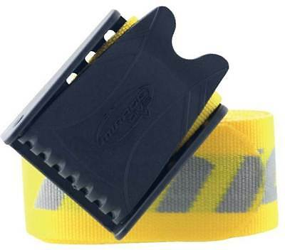 Mirage Weight Belts With Plastic Buckle Yellow SCUBA ACCESSORIES BNIP C24