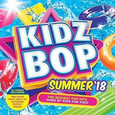 Kidz Bop Summer 18 - Various Artist (2018, CD NEU)