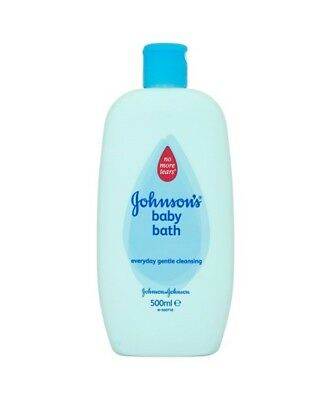 2x Johnson's Baby Bath Everyday Gentle Cleansing 500ml - No More Tears