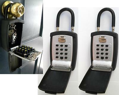 ShurLok KeyGuard Pro - PACK OF 2 - Storage Lock Box Padlock Key Safe - Brand New