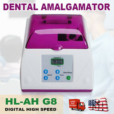Dental Electric HL-AH G8 Fast Speed Amalgamator Amalgam Capsule Mixer 110V