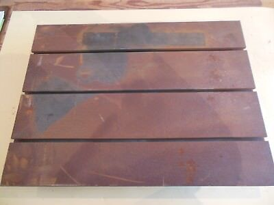 "18"" x 24"" x 4""  T-Slotted Layout Table 3 slots Cast Iron  GROTON"