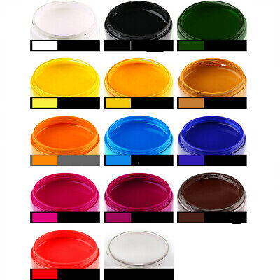 1/6x Bottle 30ml Leather Edge Oil Paint DIY Handmade Goods 6 Colors