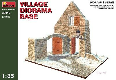 MiniArt 1/35 36015 Village Diorama Base (WWII Military Diorama)