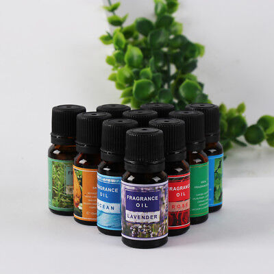 10ml Oils 100% Pure Natural Aromatherapy Oil Fragrance Aroma Air Purified