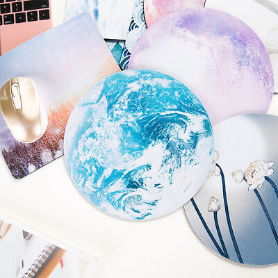 Round Good Wrist Support Mouse Pad Mice Mat Computer Laptop Netbook Non Slip