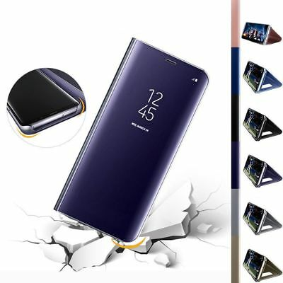 For Samsung S9/Plus Luxury Smart Mirror View Hard Flip Case Stand Cover Shell