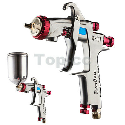 W-101 Gravity Feed HVLP Spray Gun 1.5mm H2 Nozzle Cup Replace ANEST IWATA W-101