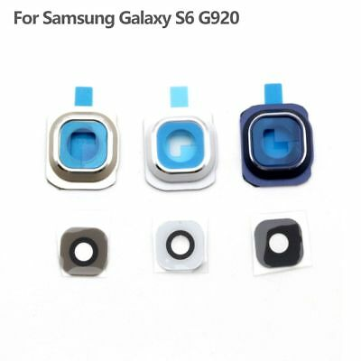 Rear Back Camera Glass Lens Cover  Repair Parts For Samsung Galaxy S6 G920 New